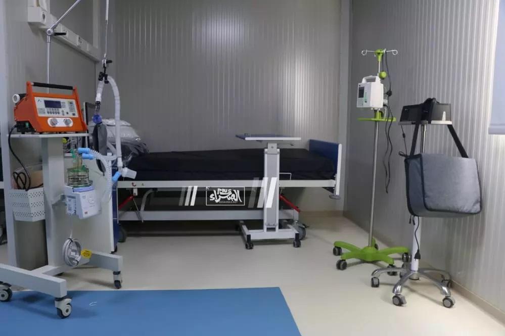 Le Président inaugure l'hôpital mobile Mohamed Ben Zayed ...Photos