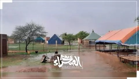 Un samedi pluvieux et nuagueux sur des localités du Hodh Charghi ...hauteurs