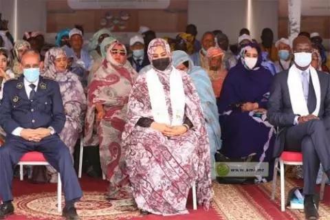 La Première Dame appelle à lever les obstacles à la scolarisation des filles