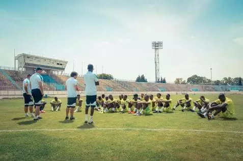 Les Mourabitounes reprennent les entrainements et des joueurs en renfort