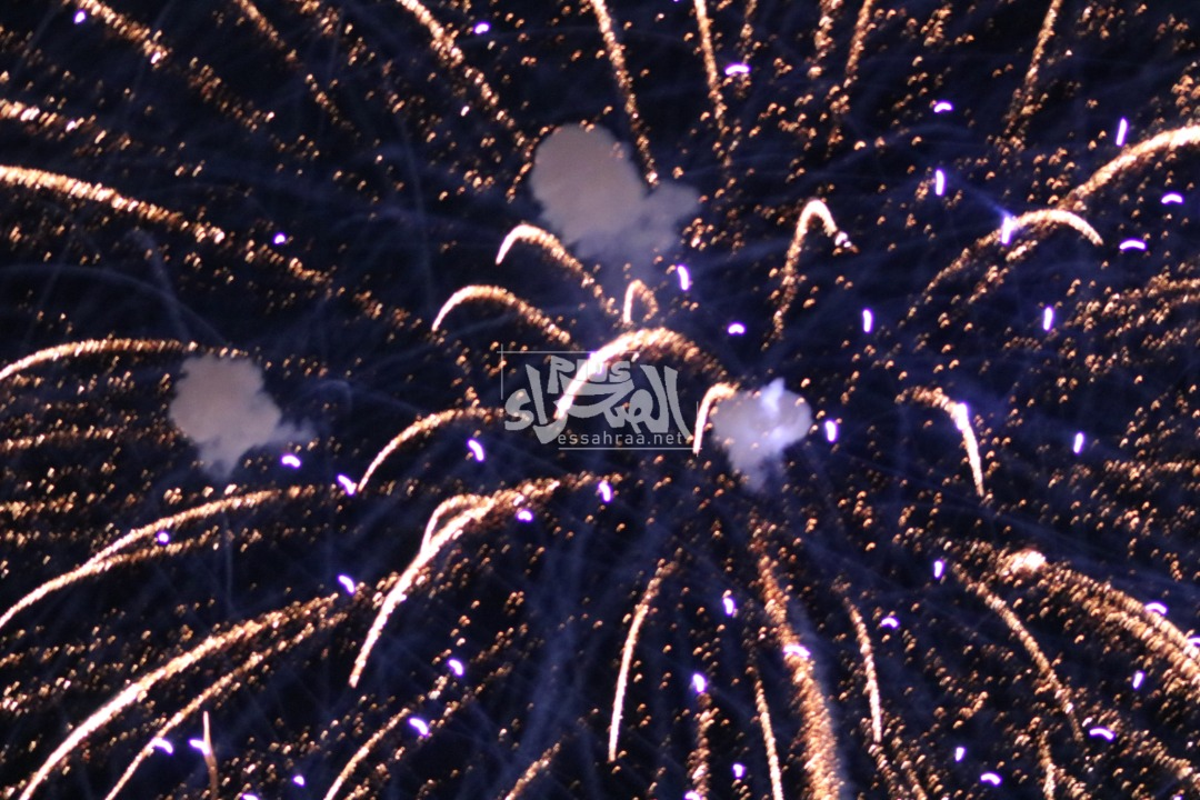 الألعاب النارية - (المصدر: الصحراء)