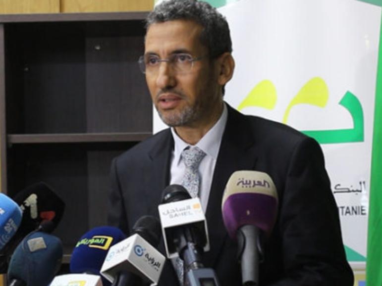 وزير المالية - محمد الأمين ولد الذهبي (المصدر:الانترنت)