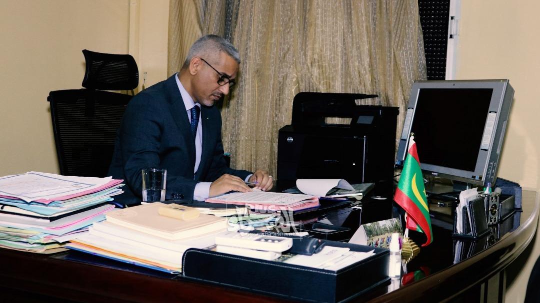 مفوض حقوق الإنسانمحمد الحسن ولد بوخريص ـ (المصدر: الصحراء)