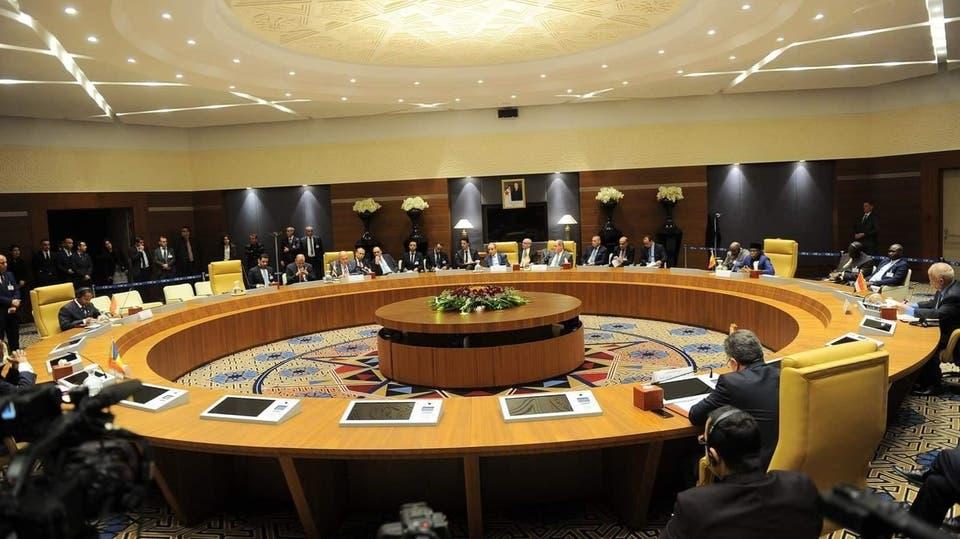 من اجتماع وزراء خارجية دول الجوار الليبي في الجزائر
