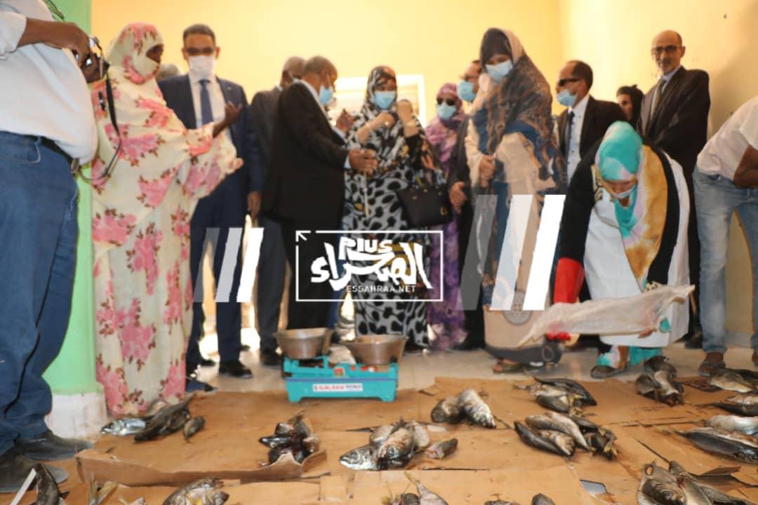 وزيرة التجارة تشرف على إطلاق عملية رمضان ـ (المصدر: الصحراء)