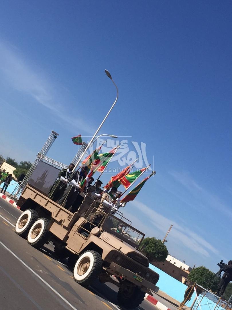 جانب من العرض العسكري المخلد للذكرى 60 لعيد الاستقلال ـ (المصدر: الصحراء)