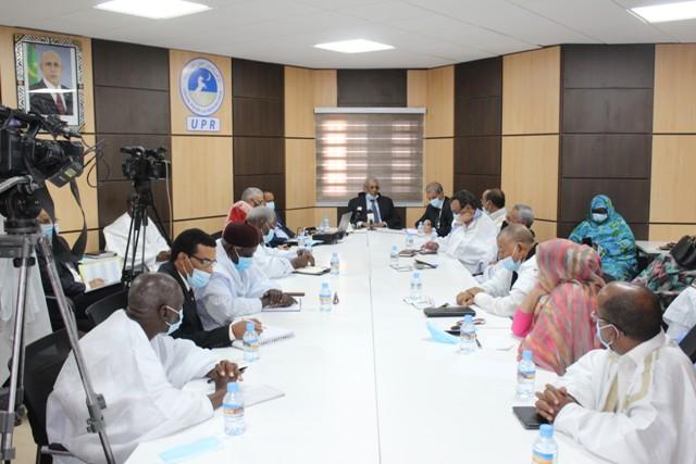 جانب آخر من اجتماع ممثلي الحكومة ورؤساء الأحزاب الممثلة في البرلمان (المصدر: الحزب الحاكم)