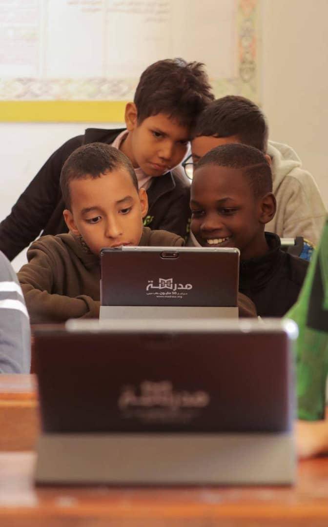 مبادرة اماراتية للتعليم الإلكتروني
