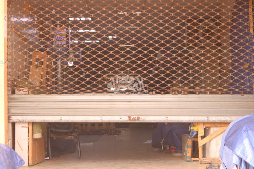 """أسواق نواكشوط في ثالث يوم من إغلاقها بسبب """"كورونا""""- (المصدر: الصحراء)"""