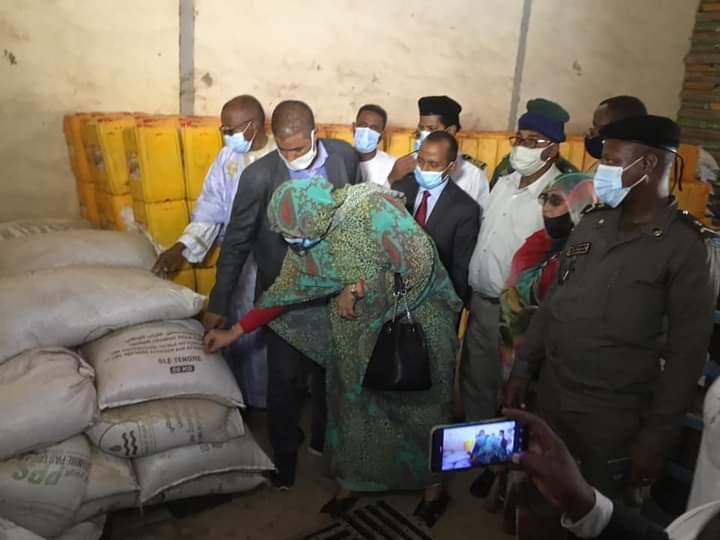 مفوضة الأمن الغذائي تطلق بونامجا لتمويل التعاونيات بطيدي ماغا