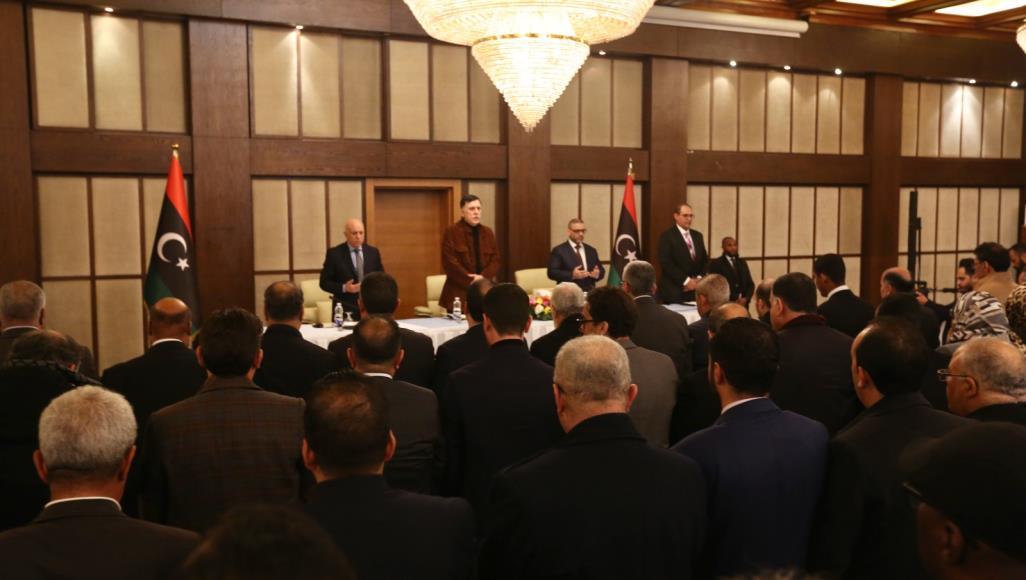 اجتماع لحكومة الوفاق في طرابس لبحث وقف إطلاق النار ومؤتمر برلين (الأناضول)