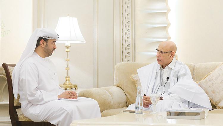 الرئيس محمد ولد الشيخ الغزواني - (المصدر:الاتحاد)