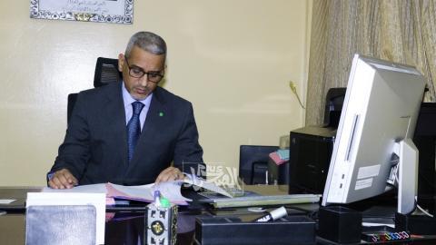 مفوض حقوق الإنسان محمد الحسن ولد بوخريص (ارشيف - الصحراء)