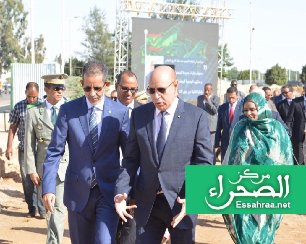 الرئيس محمد ولد الشيخ الغزواني - (المصدر:ارشيف الصحراء)