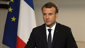 الرئيس الفرنسي إيمانويل ماكرون (المصدر: انترنت)