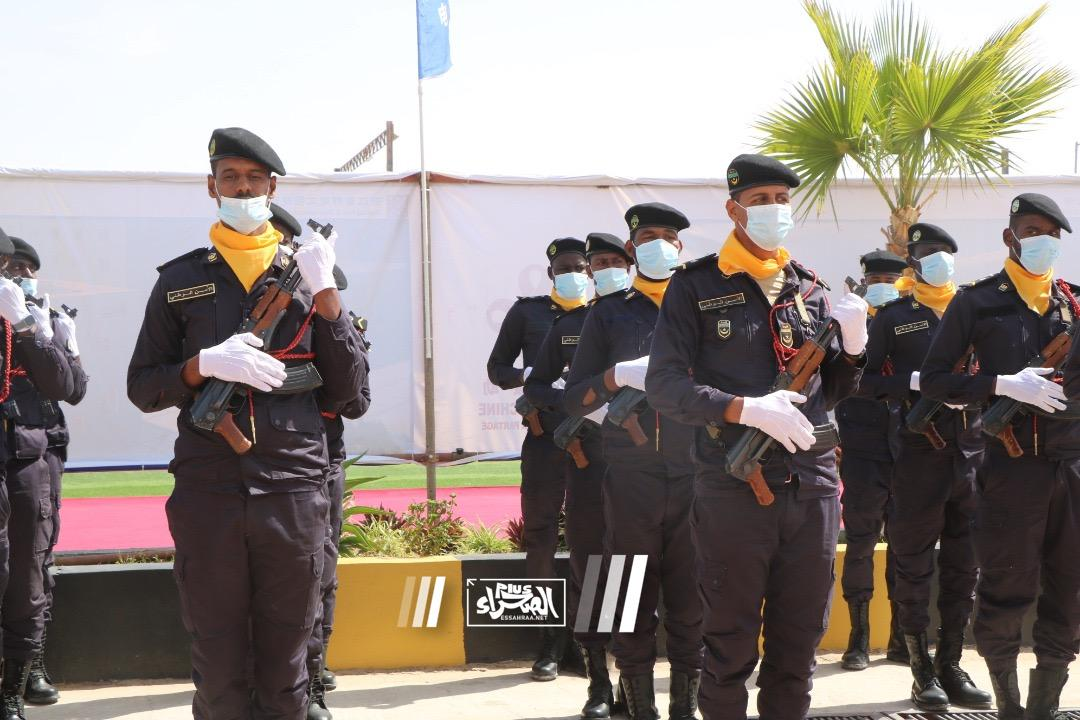 وضع الحجر الأساس لمشروع نظام الأمن بنواكشوط ـ (المصدر: الصحراء)