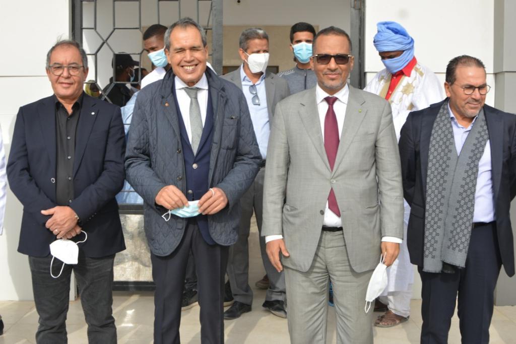 حفل تدشين عيادة لطب العيون بمقاطعة الرياض ـ (المصدر: وما)
