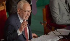 زعيم حركة النهضة الإخوانية راشد الغنوشي