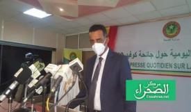 مدير الرقابة الوبائية الدكتور محمد محمود ولد اعل محمود ـ (أرشيف الصحراء)