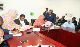مراسم التوقيع على اتفاقية موريتانيا وCEDEAO (و م أ)