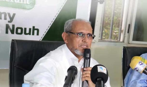 رئيس الحزب د. محمد محمود ولد سيدي (المصدر: حزب تواصل)