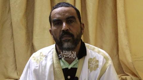 عضو اتحادية آباء التلاميذ يعقوب ولد أحمد- المصدر (الصحراء)