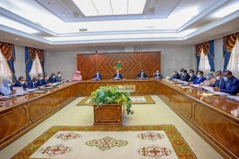الاجتماع الأسبوعي للحكومة- المصدر (وما)