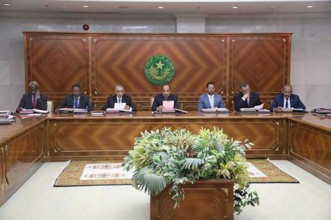 مجلس الوزراء في موريتانيا