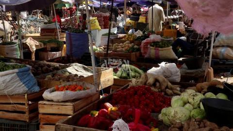 سوق الخضروات في نواكشوط- المصدر (الصحراء)