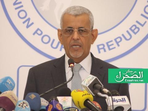 رئيس حزب الاتحاد من أجل الجمهورية- المصدر (الصحراء)