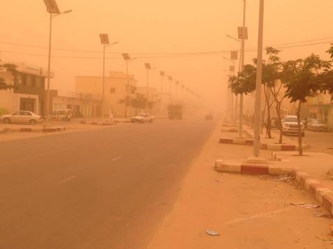 شوارع العاصمة نواكشوط- المصدر (أرشيف الصحراء)