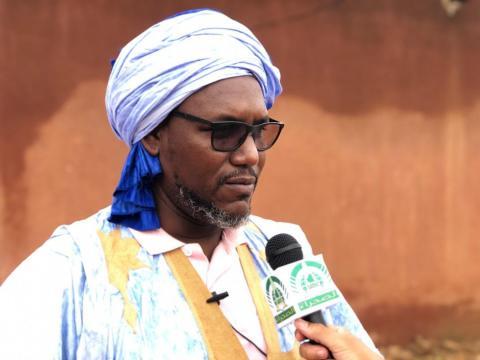 زعيم المعارضة إبراهيم ولد البكاي (ارشيف - الصحراء)