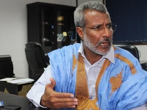 رئيس حزب حاتم صالح ولد حننا- المصدر (الانترنت)