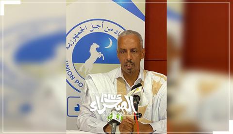 الأمين التنفيذي المكلف بالإعلام بالحزب الحاكم عالي ولد عيسى