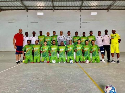 المنتخب الوطني لكرة القدم داخل الصالات- المصدر: (FFRIM)