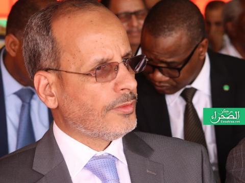 وزير التهذيب الوطني والتكوين والإصلاح ماء العينين ولد أييه (أرشيف الصحراء)