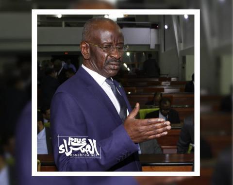 وزير الداخلية محمد سالم ولد مرزوك- المصدر (الصحراء)