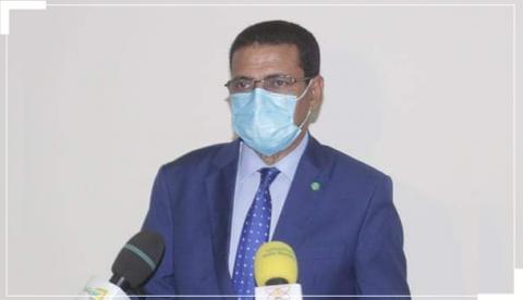 وزير الصحة نذيرو ولد حامد - المصدر (الانترنت)