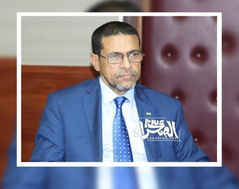 وزير الصحة نذيرو ولد حامد ـ (أرشيف الصحراء)