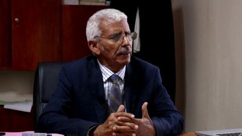 رئيس لفيف المحامين المتعهد بالدفاع عن الدولة إبراهيم ولد أبتي- الصحرء
