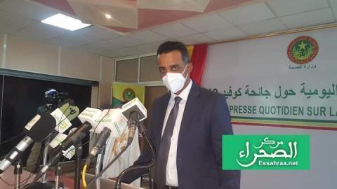 مدير الرقابة الوبائية بوزارة الصحة محمد محمود ولد اعل محمود- المصدر(الصحراء)