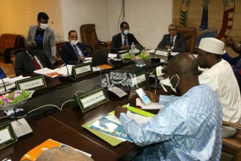 اجتماع لرؤساء غرف التجارة والصناعة بدول الساحل ـ (المصدر: الإنترنت)