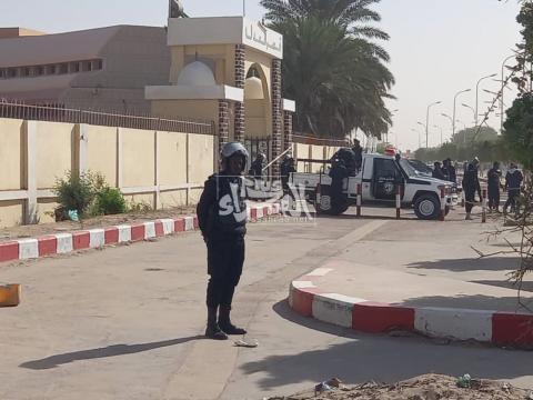 قصر العدل قبل لحظات ـ (المصدر: الصحراء)