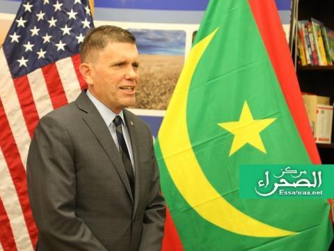 السفير الأمريكي  لدى نواكشوط مايكل دودمان ـ (أرشيف الصحراء)