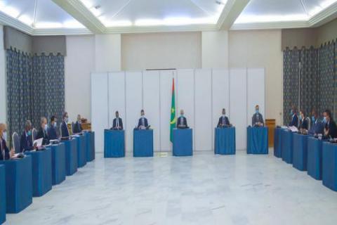 اجتماع مجلس الوزراء (و م أ)