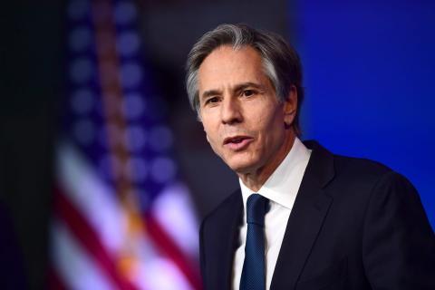 وزير الخارجية الأمريكي أنتوني بلينكن-(المصدر: الأنترنت)