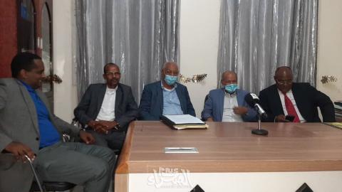 هيئة دفاع ولد عبد العزيز ـ (أرشيف الصحراء)