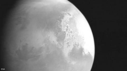 صورة للمريخ بكاميرا المسبار الصيني