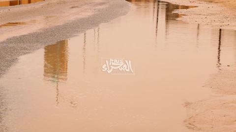 أحد الشوارع في موريتانيا بعيد تهاطل الأمطار (ارشيف - الصحراء)