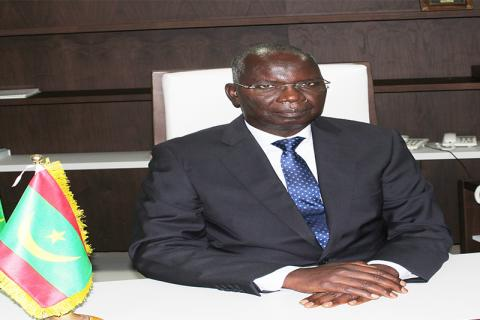 وزير الشؤون الاقتصادية كان مامودو عثمان ـ(المصدر: الإنترنت)